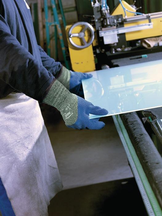 Ansell corte guantes de protección activarmr ® 80-658 talla 10 verde-moteado/azul p....
